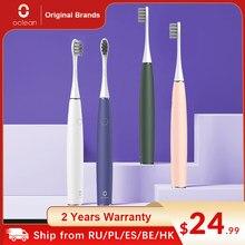 Oclean – Brosse à dents électrique Air 2 Sonic IPX7 pour adulte,appareil de nettoyage smart à charge rapide, accessoire étanche, trois modes de brossage pour PK XPRO,