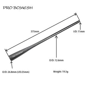 Image 2 - برو Bomesh تفتق أنبوب الكربون 37.5 سنتيمتر 40 سنتيمتر قبضة قضيب بناء مكون مقبض قضيب إصلاح blank بها بنفسك فارغة