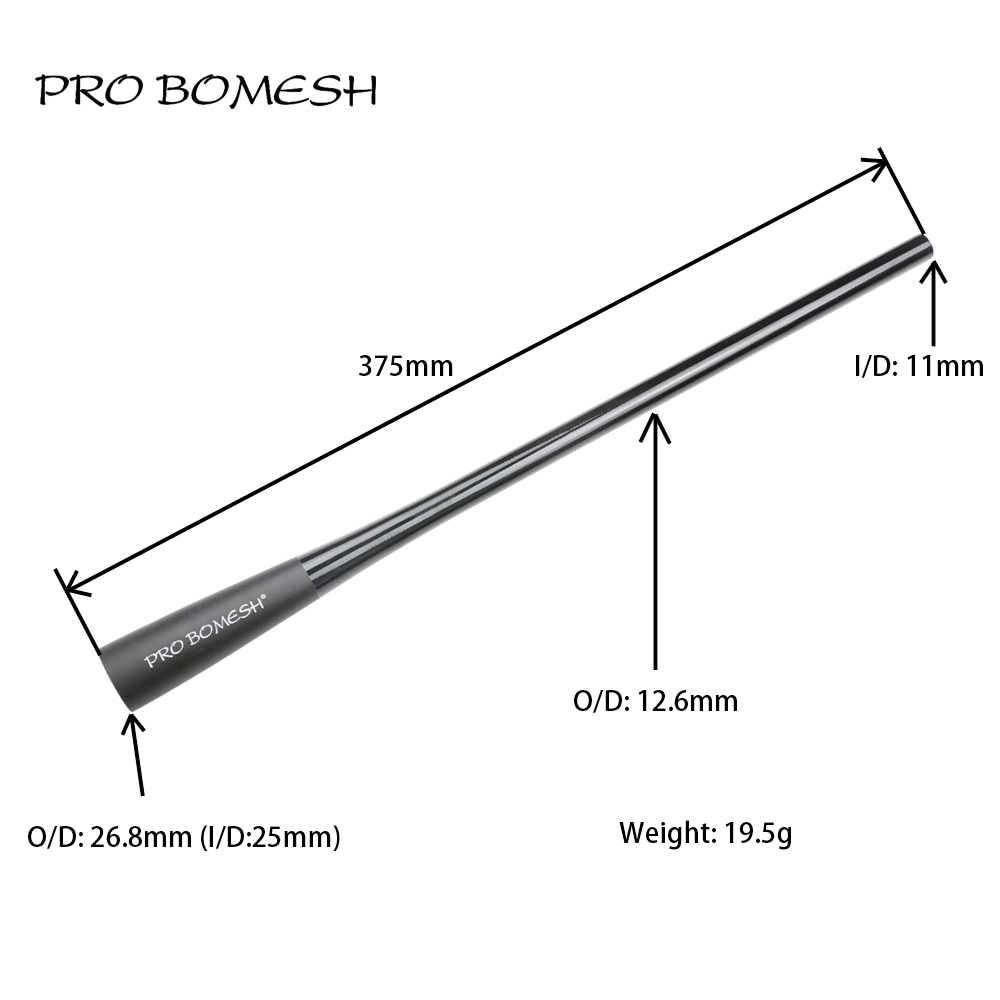 Aluminiumlegierung Gummi Endkappe Custom Rod Building Component