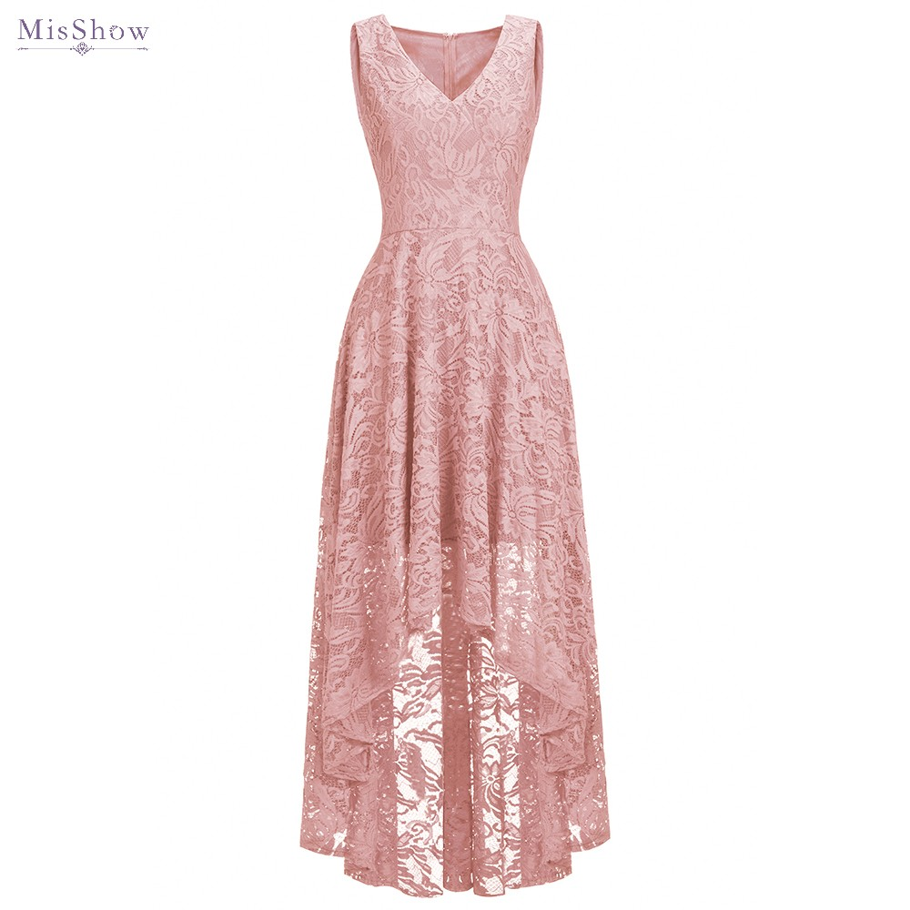 2019 Cheap Pink Cocktail Dresses Full Lace Sleeveless Elegant Lace Short Homecoming Dress Chic Formal Dress Short Prom Gown