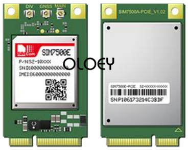 SIMcom SIM7500E MINIPCIE LTE Module, 100% Brand New Original, SIM7500E