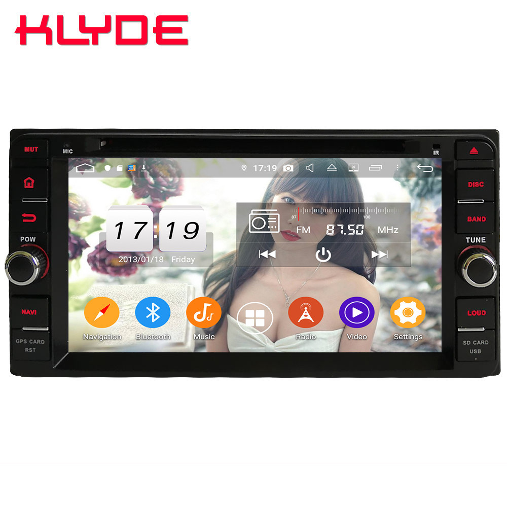 Klyde 4G Android 9.0 Octa Core 4GB+64GB BT DSP Car DVD Multimedia Player For <font><b>Toyota</b></font> Avanza Fortuner <font><b>4Runner</b></font> Sequoia FJ Cruiser image