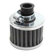 12mm Mini Cold Air Intake Filter Turbo Vent Crankcase Car Breather Valve Cover Air Filter Update Accessories