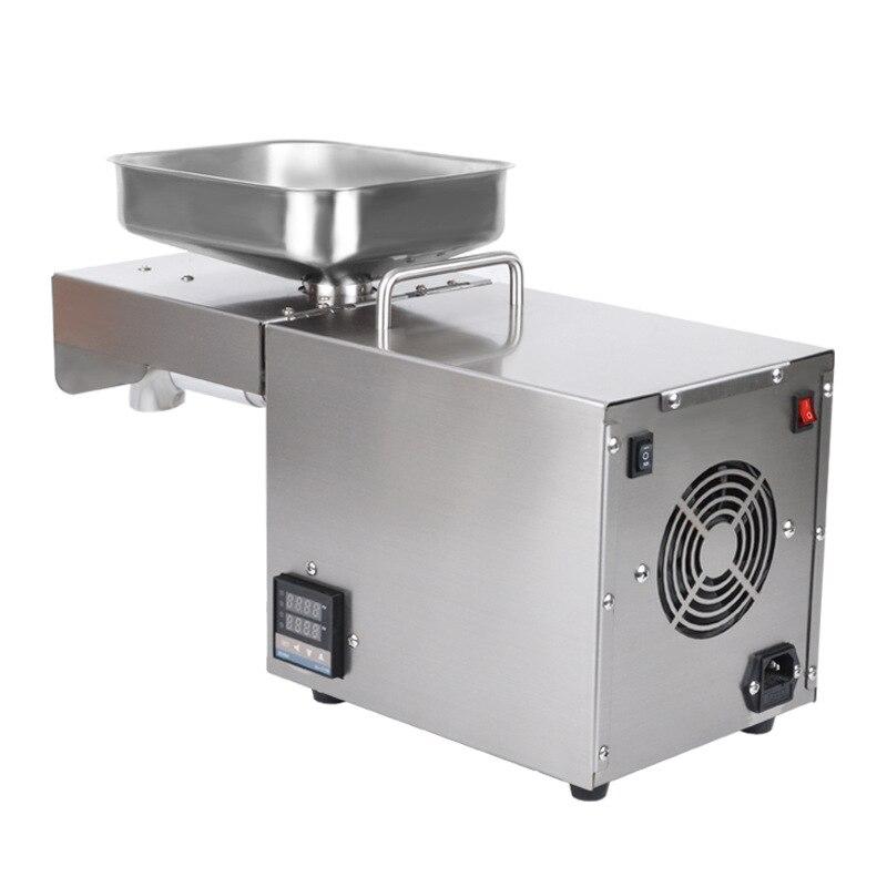 220V 1500WMax Voll Automatische Kaltpressung Ölpresse Hohe Temperatur Ölpresse Erdnuss Kokosöl Drücken - 6
