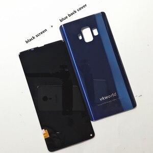 Image 3 - Orijinal LCD VKworld S8 5.99 dokunmatik LCD ekran ekran + arka kapak pil konut Digitizer meclisi yedek aksesuarlar
