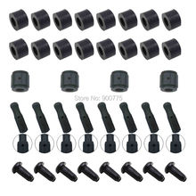 16pcs Caps End Caps With Inner Diameter 14 Mm For Foosball Table Football