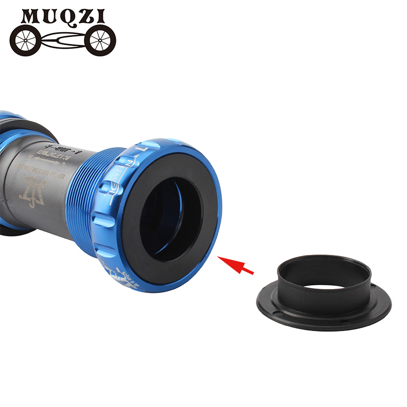 MUQZI Road Mountain Bike Fixed Gear Bottom Bracket Cover Protection Cap BB Thread Push-in ID 24MM For Bicycle