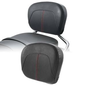 Motorcycle Stitch Passenger Backrest Pad For Harley Touring Street Road Glide 1994-2020