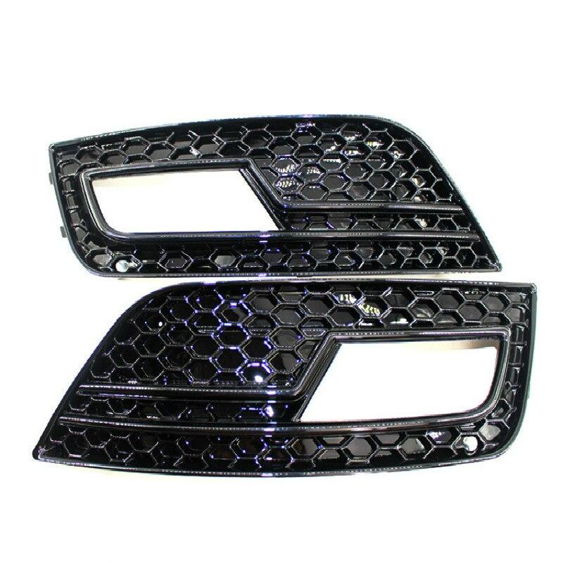Краска гриль черный бар под решеткой противотуманная фара рамка сотовая сетка для 13 15 Audi A4 B9 S4 RS4 8K0807681K
