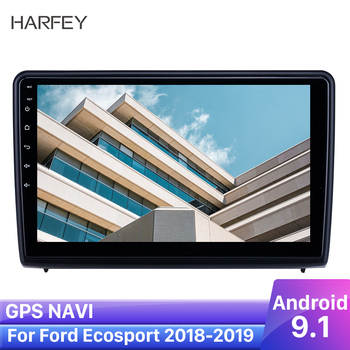 Harfey 10.1 Carplay Car GPS Radio Android 9.1 Navi Stereo for Ford Ecosport 2018 2019 With HD Touchscreen support Backup camera image