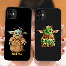Baby Yoda The Mandalorian Tv Cute cartoon Soft Silicone Phone Case Cover Shell