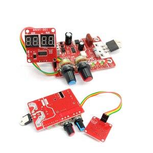 Image 4 - Панель управления аппаратом для точечной сварки, строительная плата управления, плата управления таймером, током, временем и током, цифровой дисплей 40 А/100 А