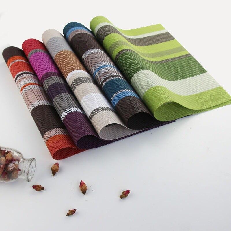 Tapis de Table domestique tapis Anti-chaud bol tapis résistant à la chaleur sous-verres imperméables