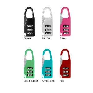 1pcs Combination Password Lock Zinc Alloy Security Lock Suitcase Luggage Coded Lock Cupboard Cabinet Locker Padlock