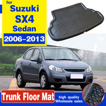 Высококачественный коврик для багажника заднего багажника, напольный поднос, подкладка для багажника, водонепроницаемый защитный коврик д...