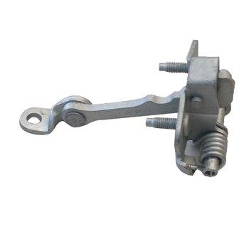 Dla Citroen C3 2002-2015 drzwi sprawdź Link pasek korek przednia prawa lub lewa 9181H1 tanie i dobre opinie CN (pochodzenie) Door Link Strap Stopper metal