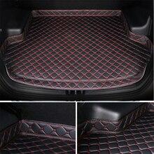 Sinjayer коврик для багажника автомобиля, водонепроницаемые коврики для багажника автомобиля, Высокие боковые коврики, коврик, подкладка для ...