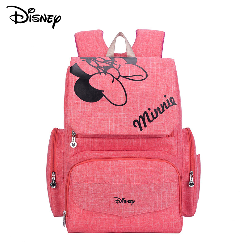 Disney Mickey Minnie Baby Diaper Bags Bolso Maternal Stroller Bag Nappy Backpack Maternity Bag  Mommy Bag 001