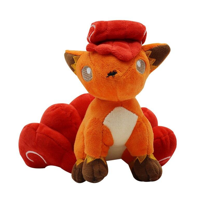 POKEMON Pokemon Pet Elf Fokko Plush Toy Doll Red Vulpix Fox