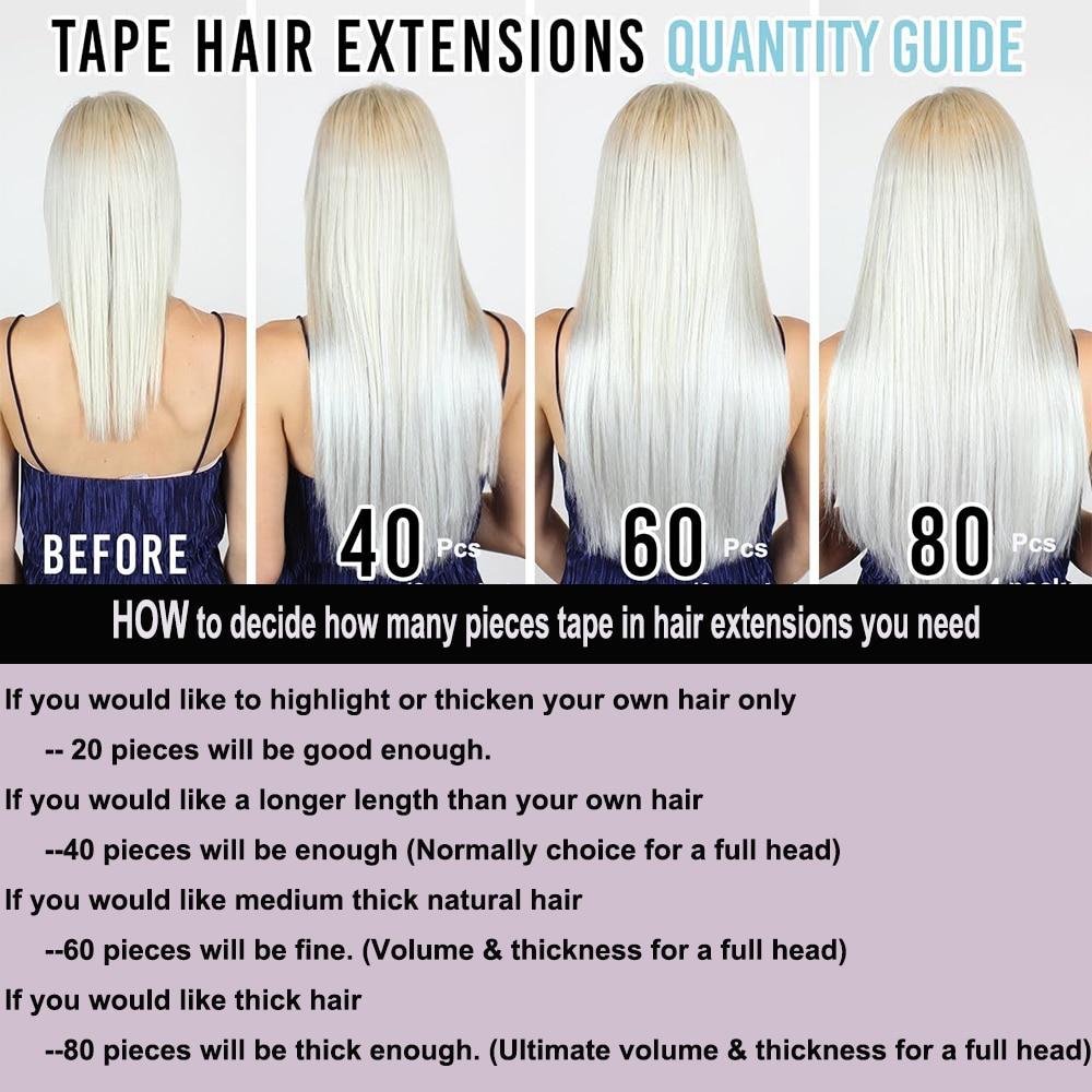 Tape in hair Volume