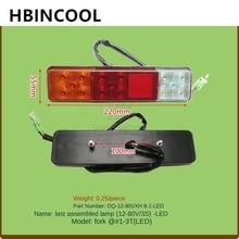 For forklift accessories forklift rear combination lamp XH8 1L 12V3S LED for Heli/TCM forklift 12V high quality accessories