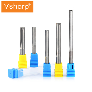 Image 5 - 6mm  8mm 10mm Shank Tungsten Carbide 2 Flutes Straight Milling Cutter CNC Tools For MDF, Particleboard, Plywood, PVC, Acrylic