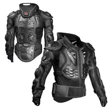 Motorcycle Armor Motorcycle Jacket Full Body with Protective Gear Motocross Riding Elbow Chest Protector Moto Armor HJ04 wosawe motorcycle armor jacket motocross body protector ghost racing riding moto protective guard armor chest back protection
