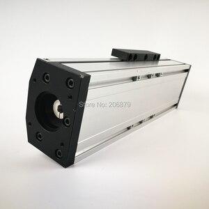 Image 2 - Бесплатная доставка, эффективный ход 50 400 мм, шариковый винт 1204 1605 1610, герметичный пыленепроницаемый линейный направляющий рельсовый слайд, модуль CNC XYZ Aixs