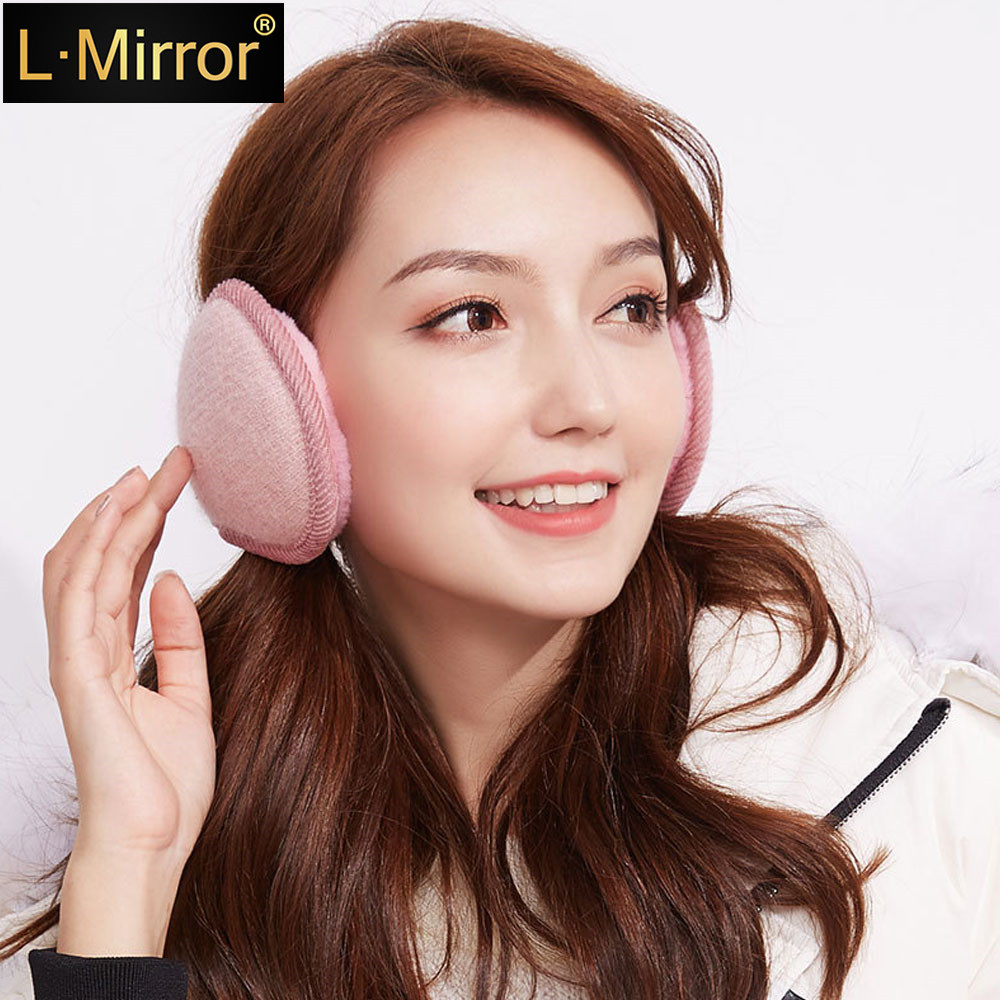 L.Mirror 1Pcs Unisex Ear Muffs/Ear Warmers - Behind The Head Style Winter Earmuffs For Women Men
