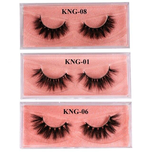 Eyewin False Eyelash 3D Mink Lash 100% Cruelty Free Lashes Cilios Dramatic Reusable Natural Eyelashes Popular Fake Lashes Makeup 4