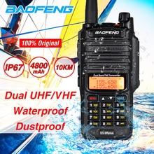 2020 10W Baofeng UV 9R artı su geçirmez Walkie Talkie UV 9R artı çift bant taşınabilir CB Ham radyo 10KM hf alıcı verici