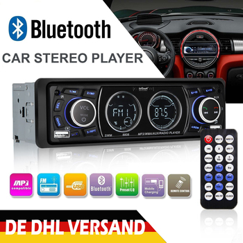12V Car Radio Bluetooth MP3 Player LCD Screen Stereo Car Audio Player FM USB/SD/AUX-IN Phone Charging 1DIN bluetooth vintage car radio mp3 player stereo usb aux classic car stereo audio auto audio accessories radio mp3 player audio