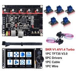 BIGTREETECH SKR V 1,4 Turbo BTT SKR V 1,4 32 Bit Bord TFT35 V 3,0 3D Drucker Teile TMC2130 TMC2209 TMC2208 UART Wifi vs MKS GEN L