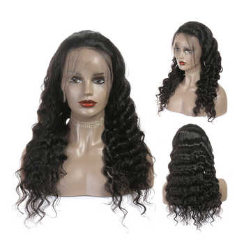 Ali Grace Hair Lace Front Human Hair Wigs for Women Brazilian Loose Wave Remy Hair Wig with Baby Hair 180% 250% Density