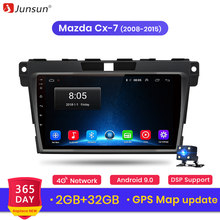 Junsun V1 2G + 32G Android 9,0 DSP auto Radio Multimedia reproductor de Video GPS de navegación para Mazda Cx-7 cx7 2008-2015 2 din DVD ESTÉREO(China)