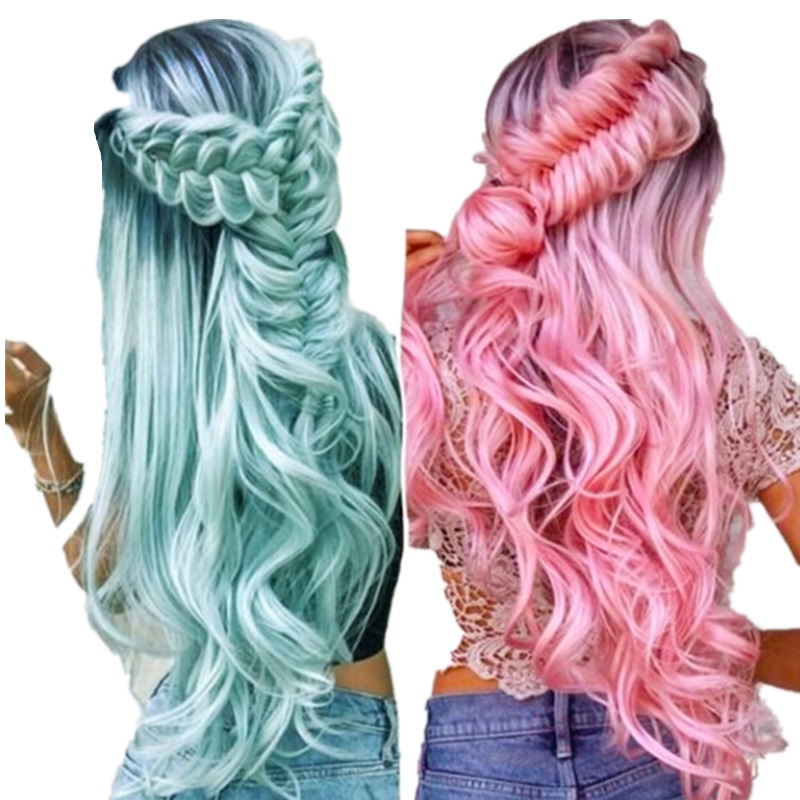 Wave Lace Wig Human Hair Wigs for Women Remy Lace Wig Cosplay Wig Heat Resistant Kawaii Lolita Anime Costume Hero Wigs