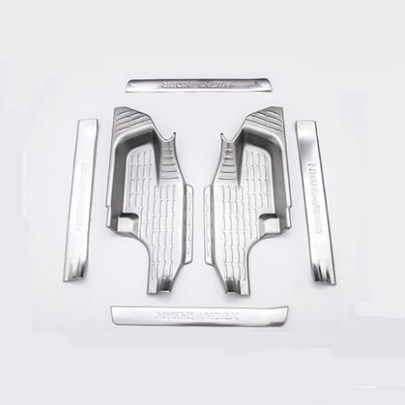 2015-2018 for Toyota new highlander door sills interior decoration stainless steel welcome pedal decorative accessories