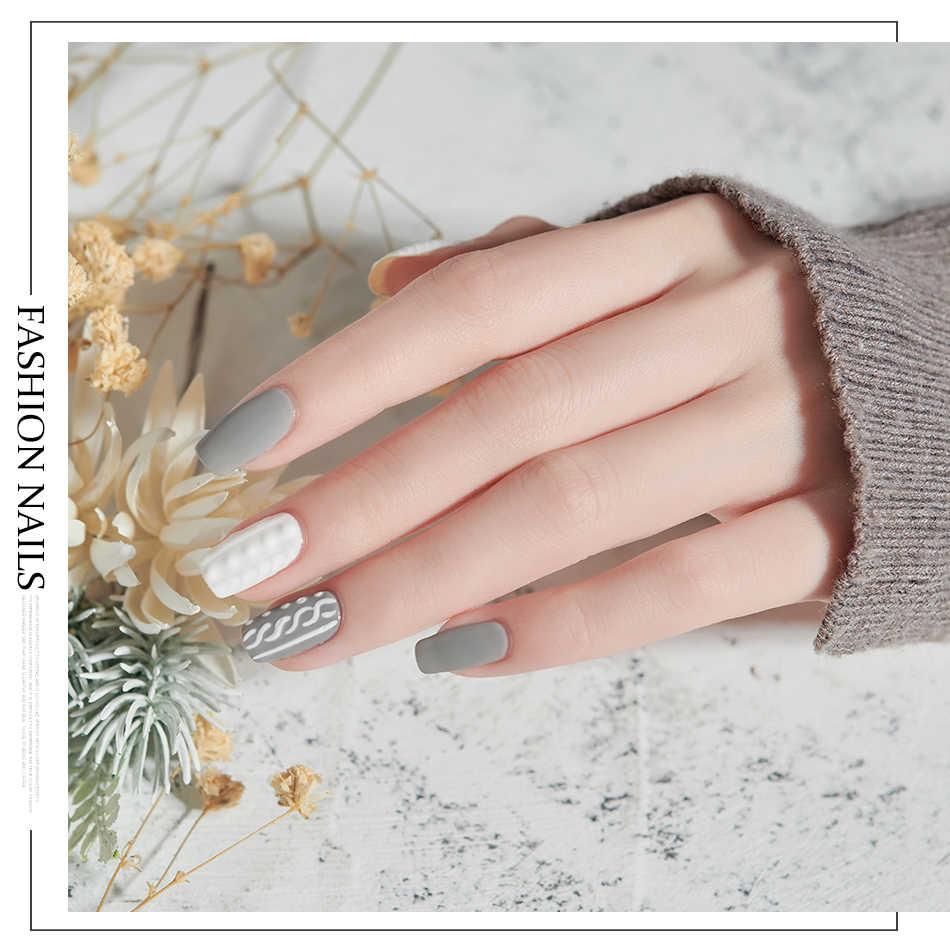 Gel de uñas MORDDA, esmalte de Gel LED UV, laca de Gel para remojo para manicura, pintura híbrida, necesita capa superior mate para uso doméstico DIY