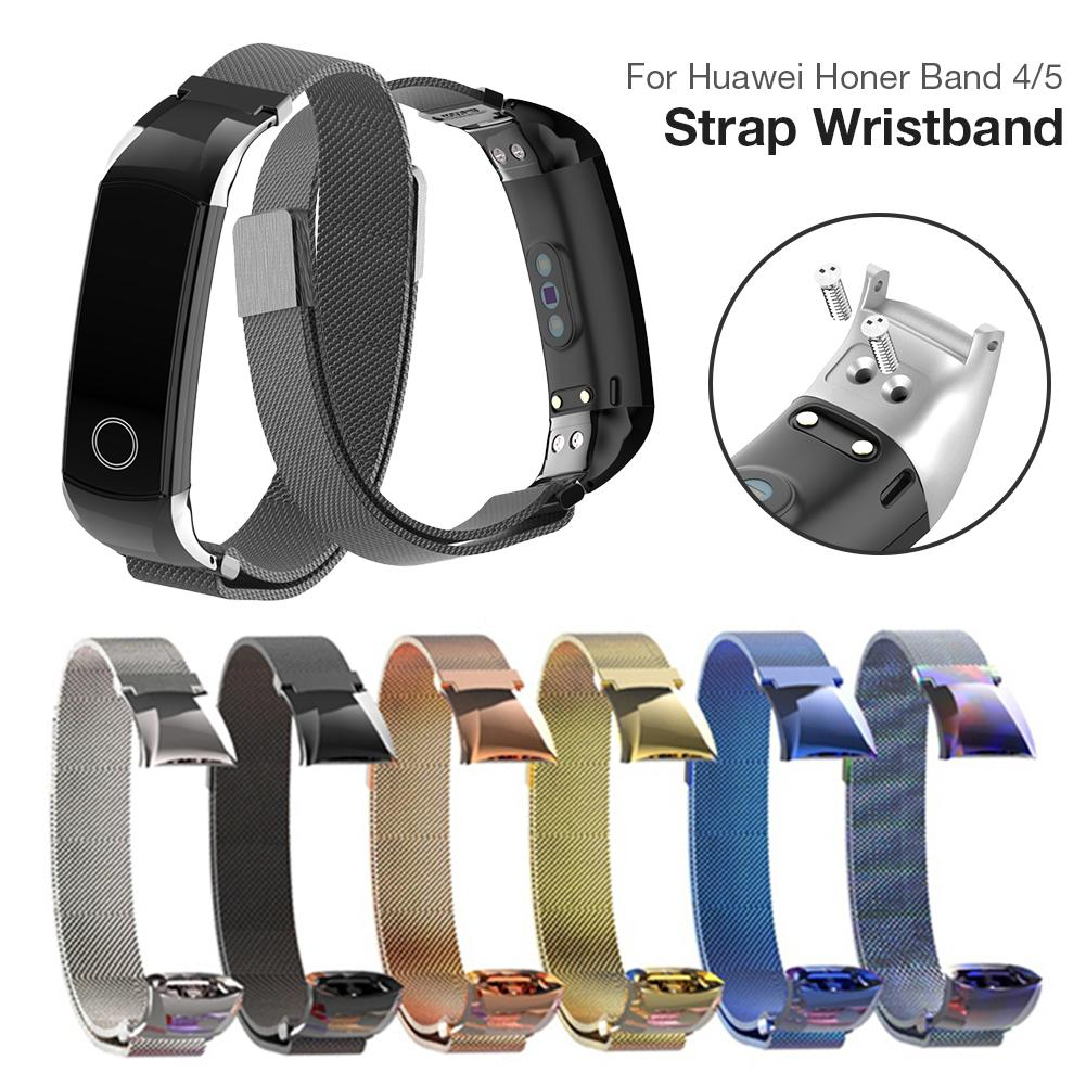 Watch-Band Stainless-Strap Smart-Watch Huawei Milanese Replacement for Bracelet