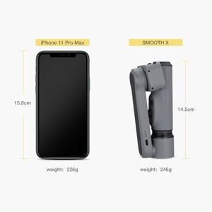 Image 3 - Zhiyun Smooth X XS Smartphone Gimbal Handheld Pocket Stabilizer Sefie Stick for iPhone11Pro/Max for Android Samsung VS Smooth 4