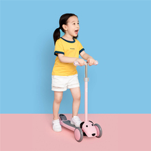 Adjustable Children Kick Scooters For 3-7 Years Kids Skateboard Kick Scooter 3 Wheels Kids Scooters Ride On Cars infant shining scooter children to the 2 3 6 10 years old children three round folding scooters flash slide block toys
