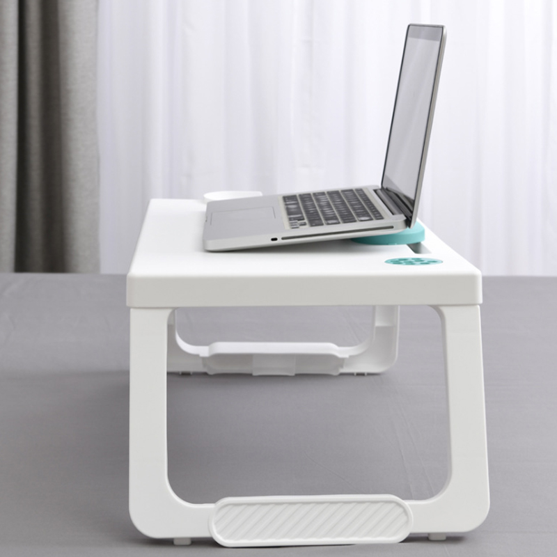 Multifunctional Folding Storage Computer Desk School Bedroom Bed Lazy Laptop Table Children Writing Table
