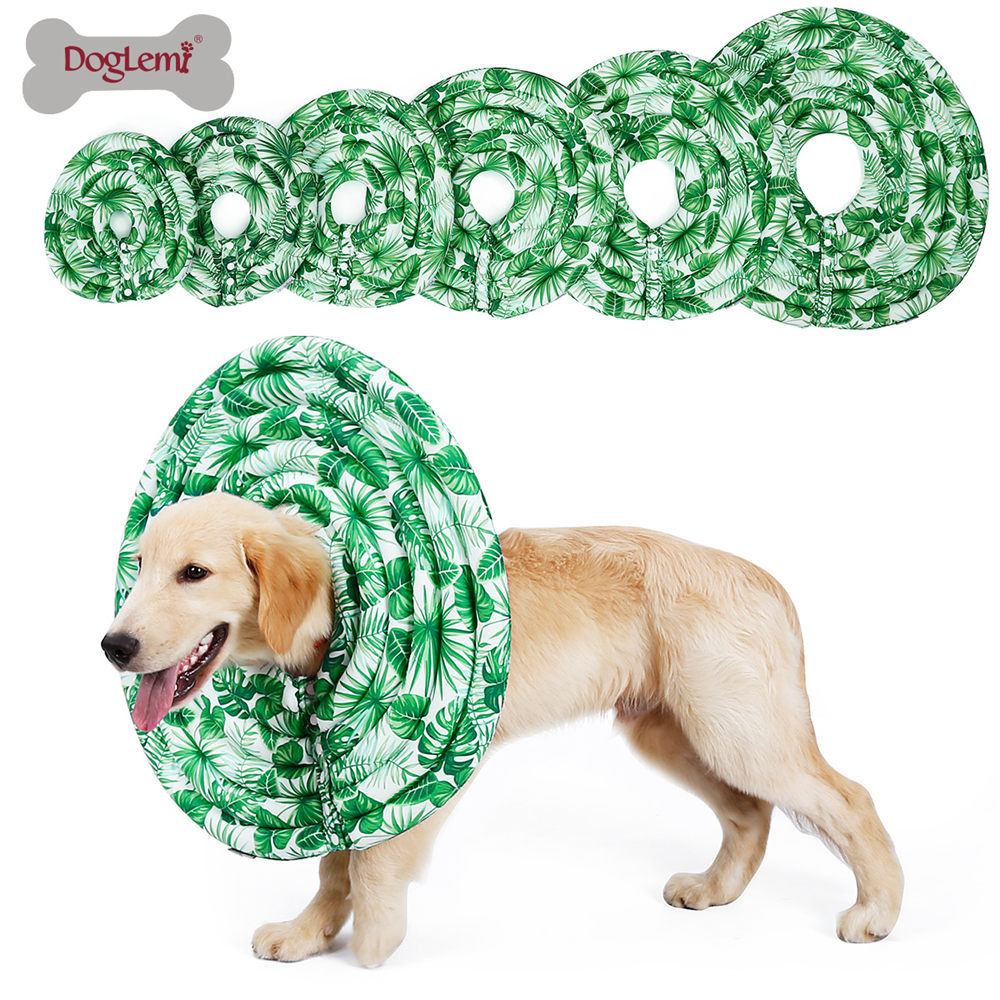 Nylon Protective Medical Cone E- Collar For Small Large Dogs And Cats 3