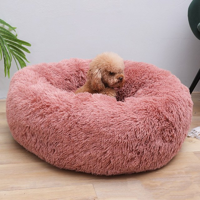 Round Dog Bed 2