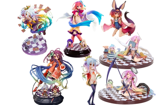 Anime NO GAME NO LIFE Sutefani Dora Hatsuse Izuna <font><b>sexy</b></font> <font><b>girl</b></font> PVC Action figure Model toy adult Collection Gifts for Christmas image