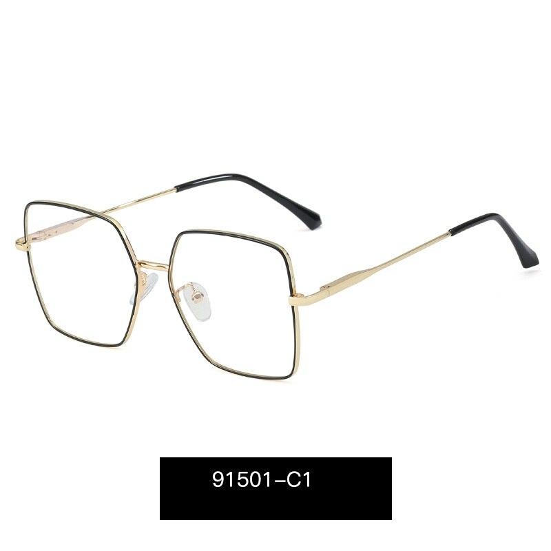 Женские квадратные очки для близорукости lonsy большого размера