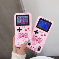 Casos de jogo para huawei p20 caso cor display macio tpu quadro gameboy telefone capa coque para huawei p30 pro companheiro 20 pro nova 3