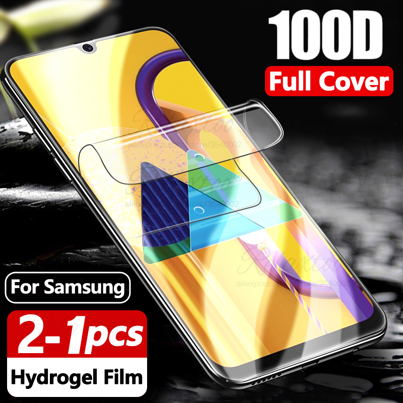 100D Soft Hydrogel Film For Samsung M30S M31 M21 M11 M51 Screen Protector On For Galaxy M31 M315F Protective Film M 30S 31 21 11