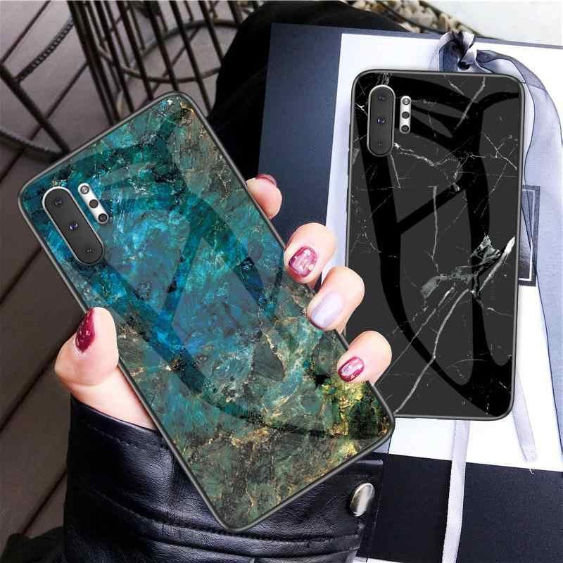ファッション大理石電話強化ガラスサムスンギャラクシー A9 A6 A8 J6 J4 プラス J8 J4 2018 J5 J7 プロ 2017 J5 J7 首相 J730 J530