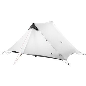 цена на 3F UL GEAR LanShan 2  2 Person Outdoor Ultralight Camping Tent 3-Season Professional 15D Silicone Rodless-Tent 4-Season